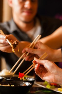 Mastery over chopsticks